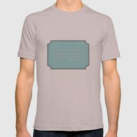 Anything Mens Fitted Tee Cinder SMALL