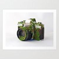 After We've Gone. Camera… Art Print