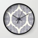 Explorations in Ink & Symmetry Wall Clock