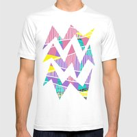 JungleParty Mens Fitted Tee White SMALL