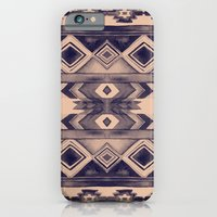 Southwest Pattern- Peach & Purple iPhone 6 Slim Case