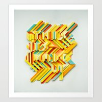 This Is Made Up #3 Art Print