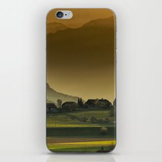 autumn landscape iPhone & iPod Skin