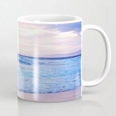 Purple Sunset over Hermosa Beach, Los Angeles  Mug
