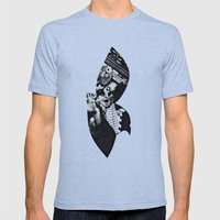 bird Mens Fitted Tee Athletic Blue SMALL
