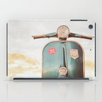 The Blue Vespa iPad Case