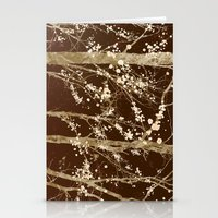 Make it Through (woodland brown edition) Stationery Cards