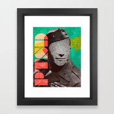 PTSD Framed Art Print