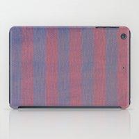 Worn Stripes iPad Case