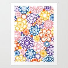 BOLD & BEAUTIFUL quirky Art Print