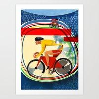 Track Cycling Championsh… Art Print