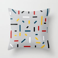BEFORE MONDRIAN Throw Pillow