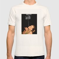 Smoke Crown Mens Fitted Tee Natural SMALL