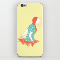 iPhone & iPod Skin featuring The Prey by pigboom el crapo