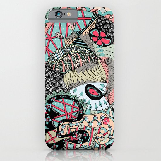 The eye looking flower iPhone & iPod Case