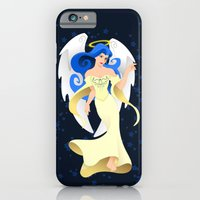 iPhone & iPod Case featuring Blue Hair Angel by Zygamora
