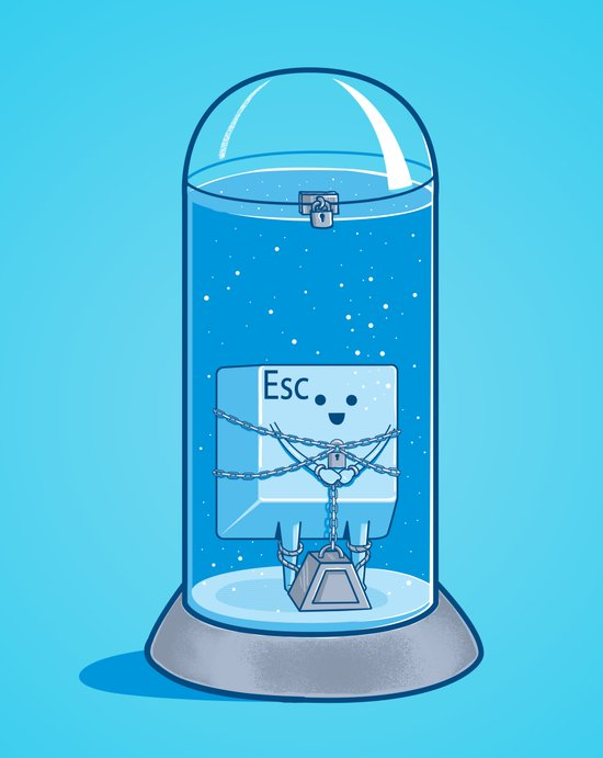 The Great Escape Artist Art Print