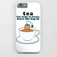 Tea, but make it strong, leave the bag in iPhone 6 Slim Case