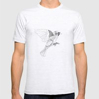 Birdie Mens Fitted Tee Ash Grey SMALL