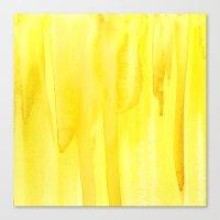 Yellow No. 2 Canvas Print