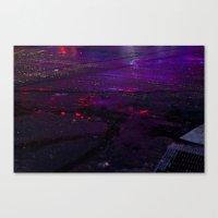 Spilled Lights Canvas Print