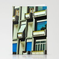 City balconies Stationery Cards
