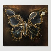 The Clockwork Music - fig.4 Canvas Print