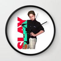 Brendan Jordan SLAY Wall Clock