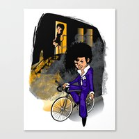 The Purple Kid Canvas Print