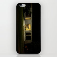 Building at Night iPhone & iPod Skin