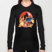 Spit Fires Long Sleeve T-shirt