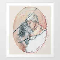 14/02 : Love Triangle  Art Print