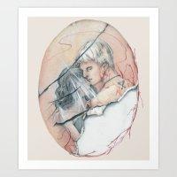 14/02 : Love Triangle  Art Print