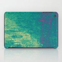 21-74-16 (Aquatic Glitch… iPad Case
