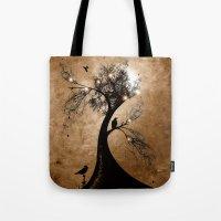 Raven Christmas II - HOL… Tote Bag