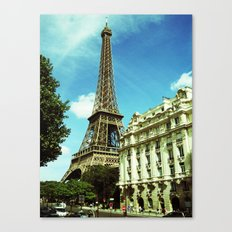 Sunny Day in Paris Canvas Print