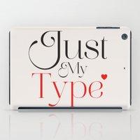 Just My Type iPad Case