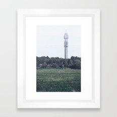 kaknästornet Framed Art Print