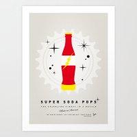 My SUPER SODA POPS No-18 Art Print