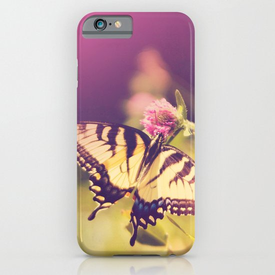 If nothing changed, there'd be no butterflies.~walt disney iPhone & iPod Case