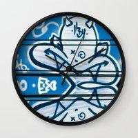 Blue Devil Wall Clock