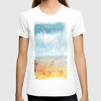 Left Coast Impression 4 Womens Fitted Tee White SMALL