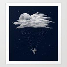 Skydiving Art Print