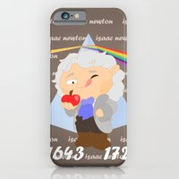 iPhone & iPod Case featuring Isaac Newton by Alapapaju