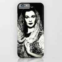 iPhone Cases featuring VIVIEN IN SPACE by Inception of The Matrix