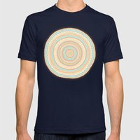 Carousel Mens Fitted Tee Navy SMALL