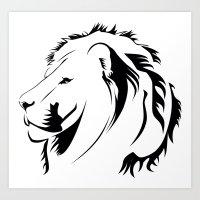 Lionhead Tribiales Art Print
