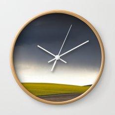Rain's Coming Wall Clock