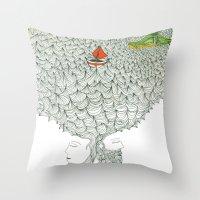 Navegando Throw Pillow