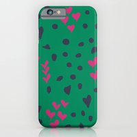 iPhone & iPod Case featuring Animal Love by Vy La